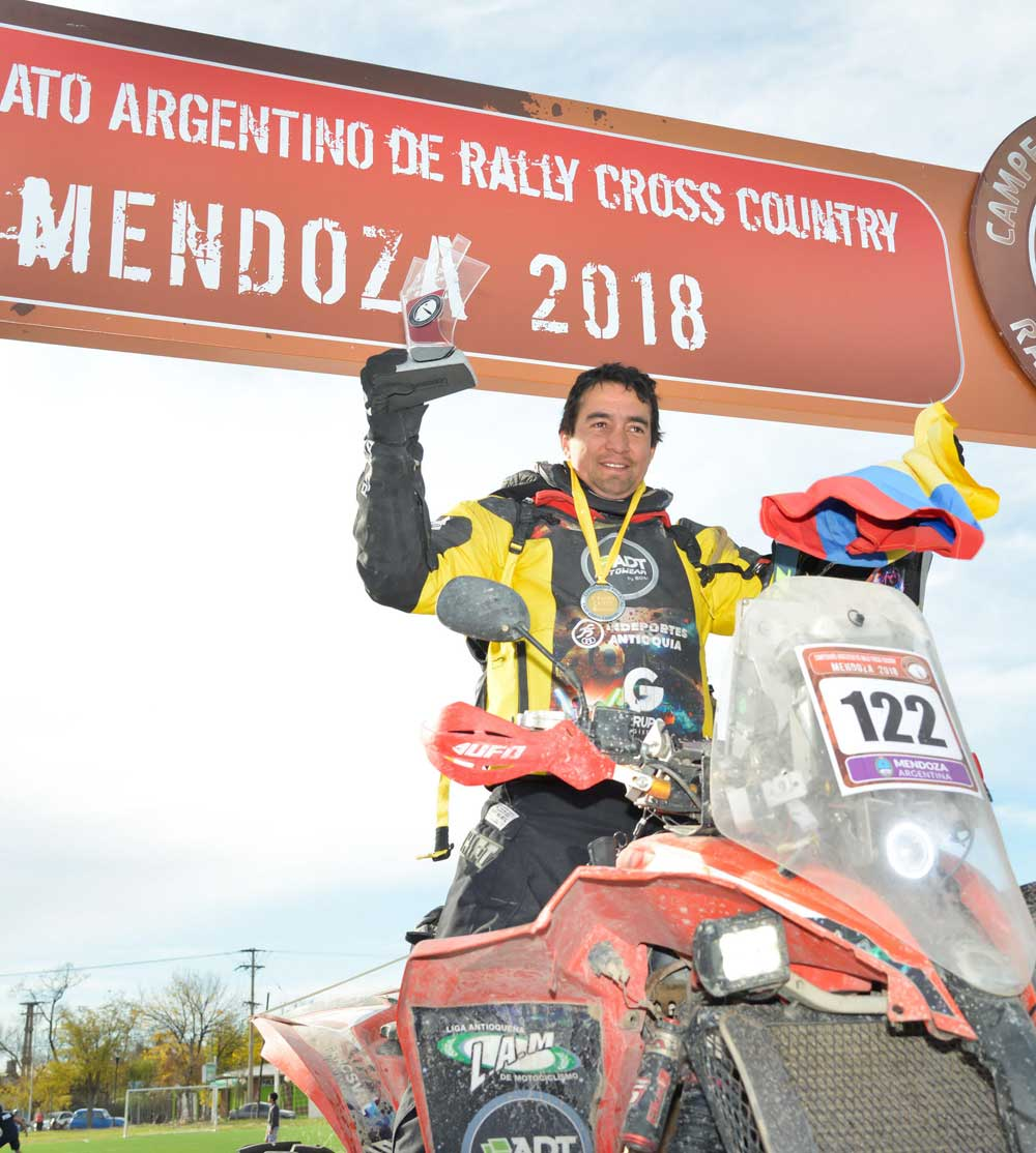 Nico Robledo Campe N Del Rally Cross Country Argentino
