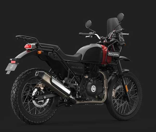 Royal Enfield Rock Red