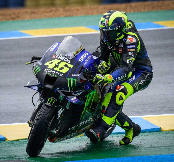 Rossi Le Mans
