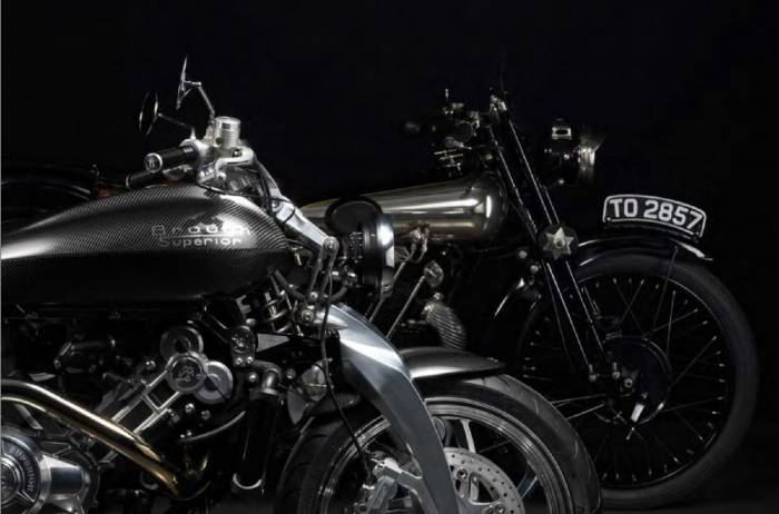 Brough Superior SS100 y Lawrence 2021